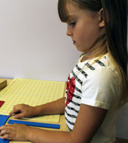 Each child receives personal attention and care in our Montessori classrooms.