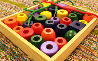 Using many tools reinforces learning at Montessori Children's House.